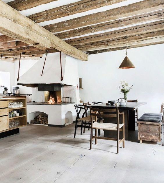 Open Fireplace, Cook In And Copenhagen On Pinterest