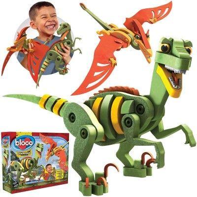 Vélociraptor & ptérosaure de Bloco Modèle: BC-20001  http://411buyitnow.com/fr/jeux-jouets/jouets/jeux-de-casse-tetes/velociraptor-pterosaure-bc-20001-de-bloco.html