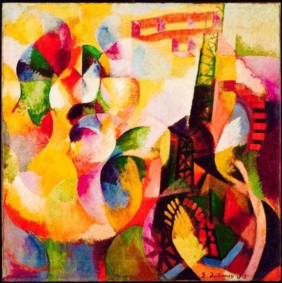 Robert Delaunay, 1885-1941, peintre français, principal artisan du mouvement Orphisme.