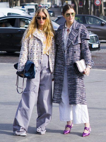 【ELLE】【随時更新】極寒のパリでファッショニスタは何を着る? 2018秋冬パリコレスナップバトル