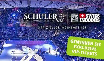 Gewinne mit Schuler Weine ein Premium Lounge Package für die Swiss Indoors 2016. https://www.alle-schweizer-wettbewerbe.ch/gewinne-swiss-indoors-2016-tickets/