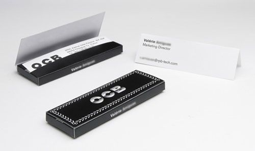 : ocb rolling business cards.
