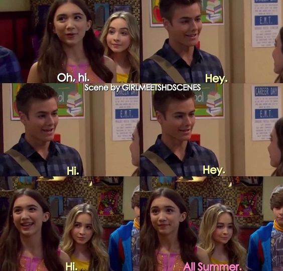 In girl meets world are riley and lucas hookup