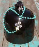 Cross Long Necklace