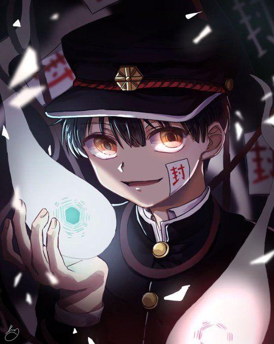 Kurimupuff 👻 Hanako-kunさん (@shinkusora) / Twitter | Hanako, Cute anime  character, Anime guys