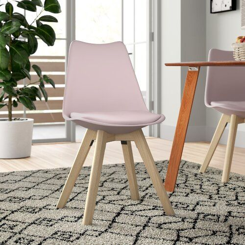 Alesia Upholstered Dining Chair Set Of 4 Zipcode Design
