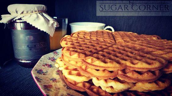 Estamos goffrereros este agosto, en busca del #goffre perfecto #besweet #sugar #sugarcorner