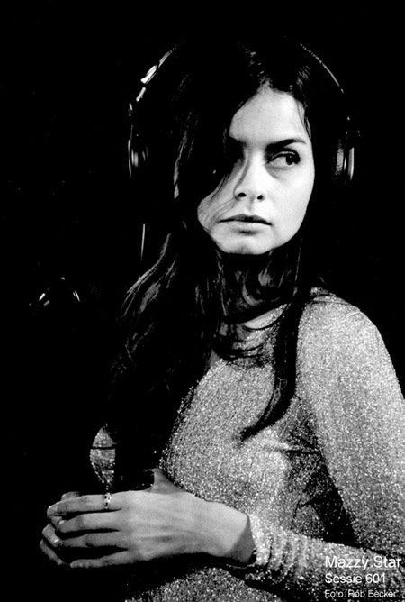 Hope Sandoval of the band Mazzy Star.