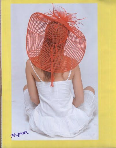 """Hat """"Ah, summer is coming soon))). Comments: LiveInternet - Russian Service Online Diaries"""