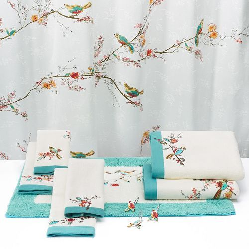 Lenox Chirp Shower Curtain Products Showers And Curtains