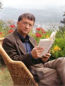 """Ramachandra Guha is an Indian historian and writer. Having worked at the universities of Stanford, Yale and Oslo. His 2007 book, India After Gandhi: The History of the World's Largest Democracy was awarded the Sahitya Akademi Award in 2011. He has been described by the novelist Aravind Adiga as the """"pre-eminent chronicler"""" of Indian democracy."""