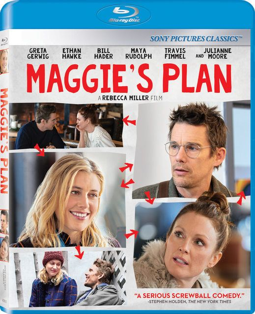 Maggie's Plan (2015) Information: ------------------------------------------------------ Rating: 6.6 (935 votes) Language: English, Danish Country: USA Runtime: 98 min All Genres: Comedy, Drama, Romance Director: Rebecca Miller Written By: Rebecca Miller, Karen Rinaldi (story) Cast:Travis Fimmel, Ethan Hawke, Julianne Moore, Maya Rudolph