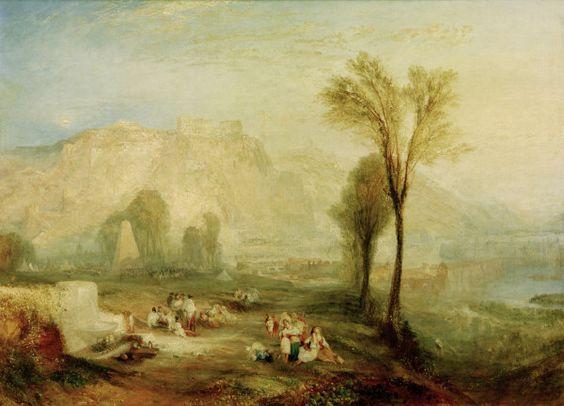 Ehrenbreitstein - William Turner.