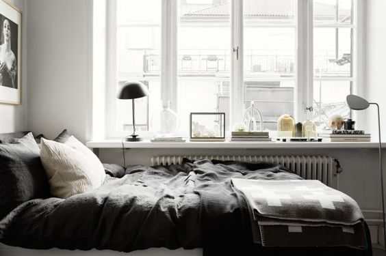 my scandinavian home: Monday's home: shades of grey
