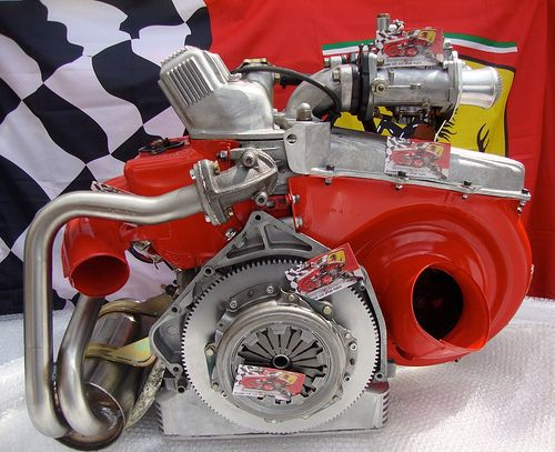 Fiat 500 Abarth 50 Hp Engine From Ricambi Fiat 500 Spare