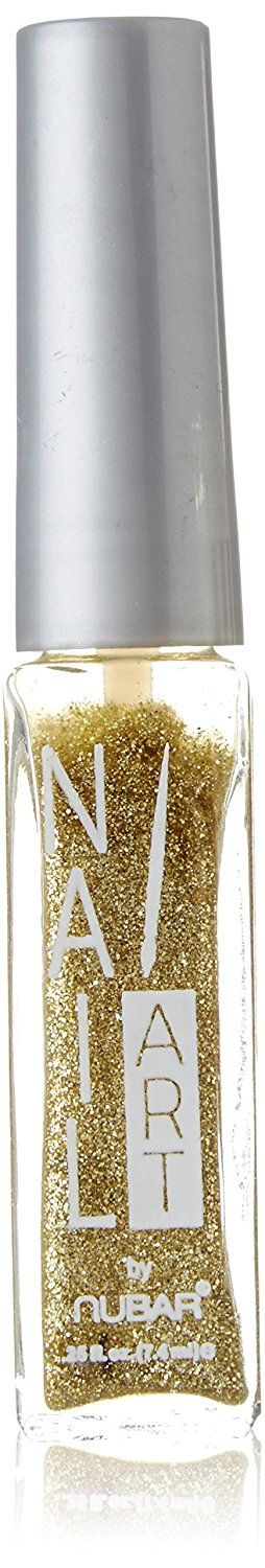 Nubar Nail Art Striper - Gold Glitter >>> You can get additional details at the image link.