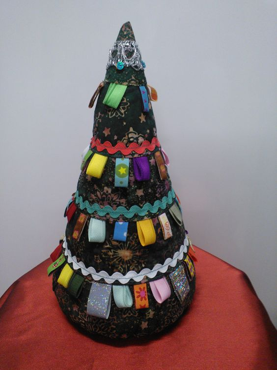 Genähter Weihnachtsbaum