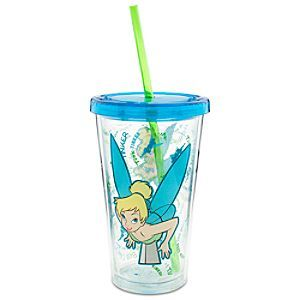 Tinker Bell Large Tumbler with Straw