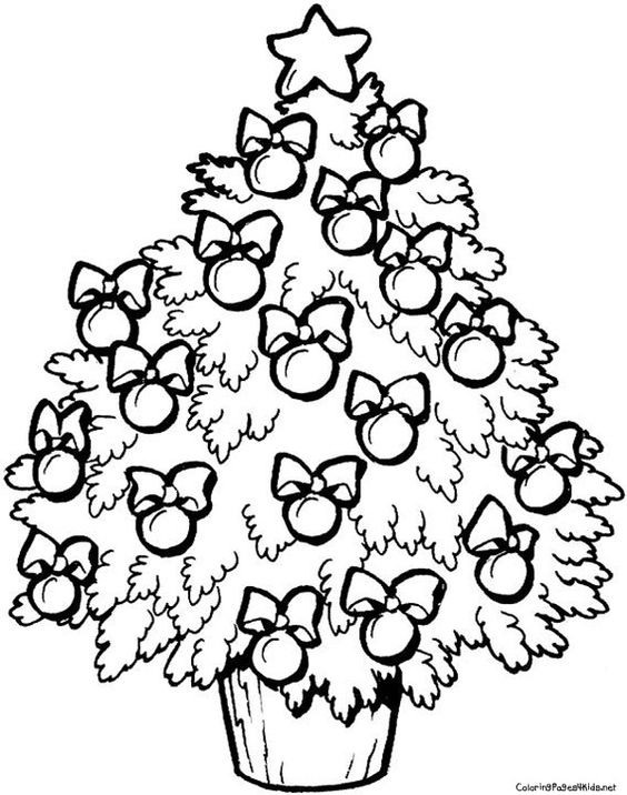 Pinterest u2022 The worldu0027s catalog of ideas - best of coloring pages for a christmas tree