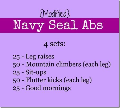 Navy Seal Abs
