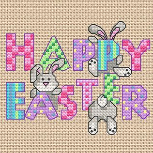 Happy Easter, designed by @Maria Diaz Pallett, from Maria Diaz Designs.: