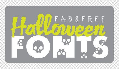 Free Halloween Fonts!