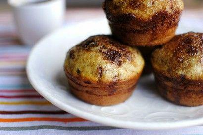 Cinnamon Sugar Swirled Pancake Muffins