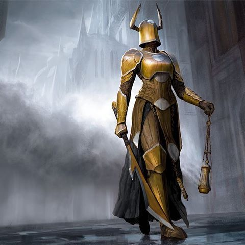 Image Result For High Alert Mtg Art Knight Fantasy Armor Warrior Woman Unbreakable formation (rna), godless shrine (rna), cavalier of night (m20), knight of the ebon legion (m20), corpse knight. fantasy armor warrior woman