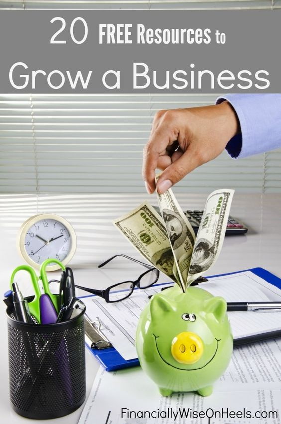 Are you following your passion and running your own company? But how to grow a business with limited finances? That was the concern of one of my readers. Therefore, I did the research and put together a list of resources that would be wonderful for anybody who wants to grow a business by using different free or low-cost tools.  http://www.financiallywiseonheels.com/grow-a-business-with-free-resources/