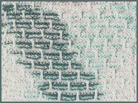 Textured Slip Stitch Dishcloth