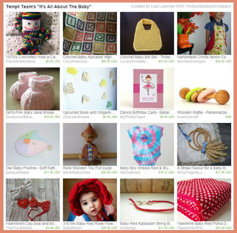 """★ Fiery Red ★ Sweet items for baby in the treasury by Lisa of www.etsy.com/shop/TheBumbleBeadCompany  """"Tempt Team's """"It's All About The Baby"""" """"  www.etsy.com/…/NTIzNjUxN…/tempt-teams-its-all-about-the-baby https://www.facebook.com/permalink.php?story_fbid=1577166242518250&id=100006746689441"""