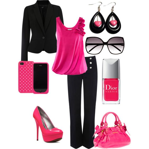 this looks cute, yet sophisticated. ♥