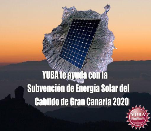 Subvencion fotovoltaica Cabildo