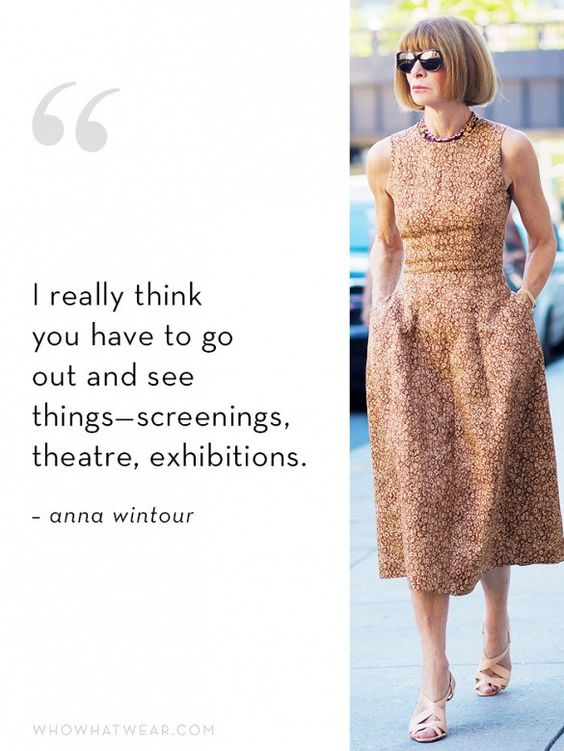 Anna Wintour's Ideal Employee Quality #1: Culture:
