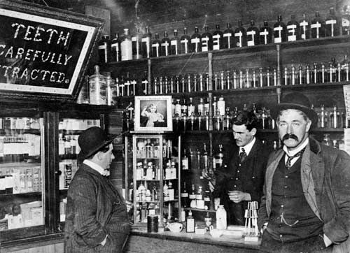 Early pharmacy, Wellington In the 19th century pharmacists often mixed their own medicines.