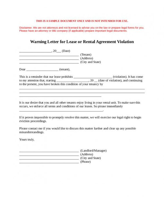 Notice Of Lease Termination Letter From Landlord To Tenant Being A Landlord Agreement Letter Lettering