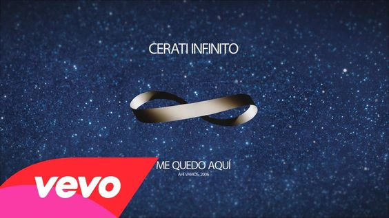 Gustavo Cerati - Me Quedo Aquí  (Lyric Video)