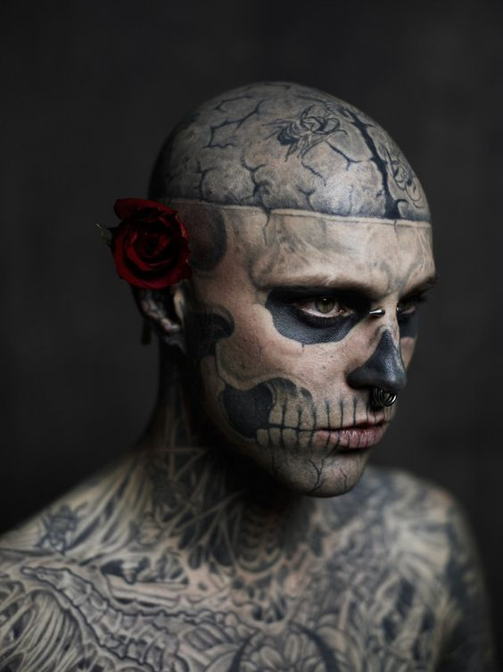Rick Genest / Rico the Zombie by Joey L. on 500px
