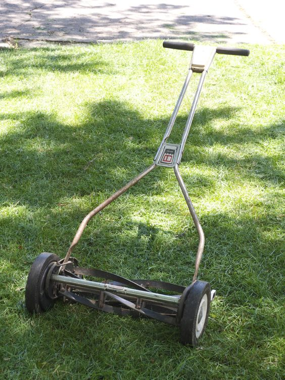 Why should I use a real mower?