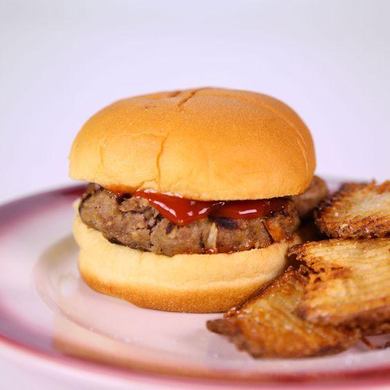 the chew | Recipe  | Carla Hall's Meatloaf Sandwich