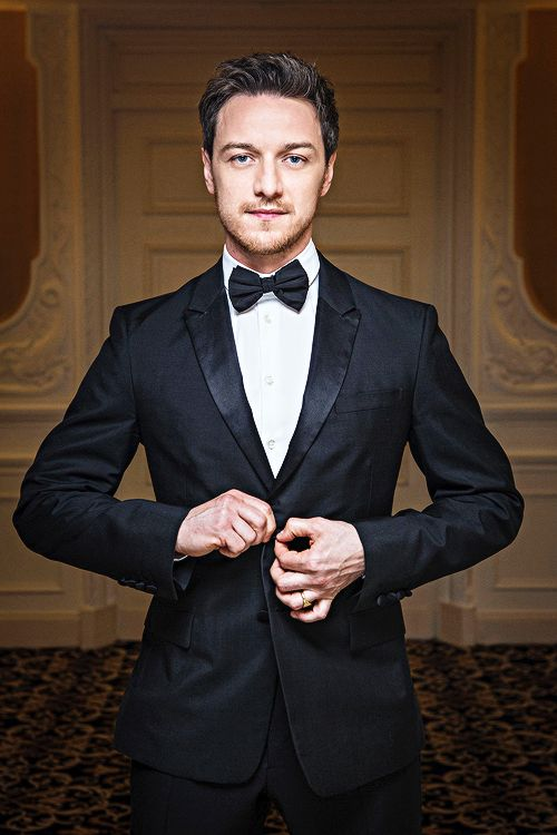 James McAvoy photographed for the Hollywood Reporter in Cannes, France.:
