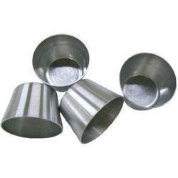forminha petit gateau média (padrão) em aluminio 12 unidades