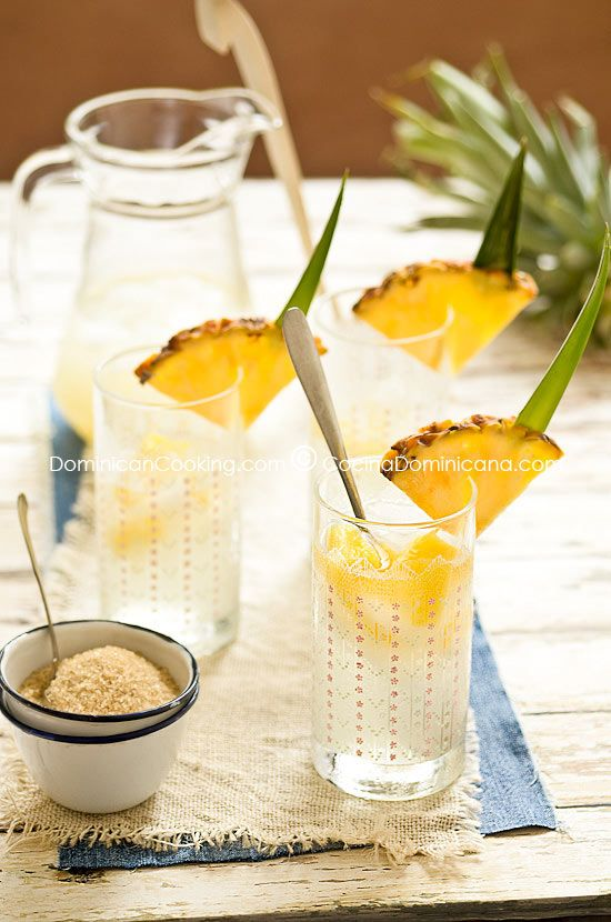 Mabí / guarapo de piña (fermented pineapple juice).....chicha, tepache, mabi....alllll so good!!!