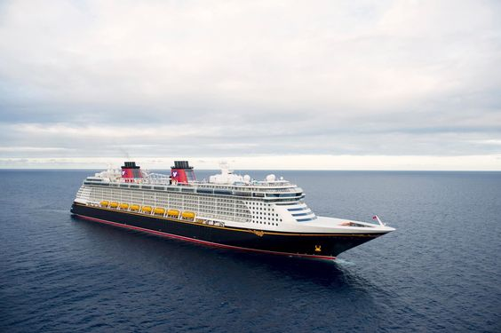The Disney Fantasy took it's maiden voyage on March 31.2012