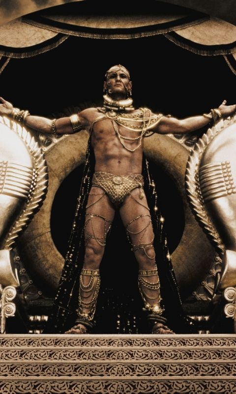 300 Film Nackt Szene Ephialtes Xerxes