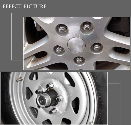 20pc 12x1 5 Chrome Spline Tuner Racing Lug Nuts Socket Key Fits Honda Amp Acura Wheel Lock Car Wheel Wheel