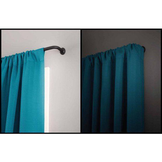 Eclipse Wrap Curtain Rod Set Curtains Curtain Rods Wrap Around