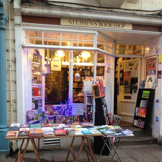 The bookshop around the corner: An amateur adventurer