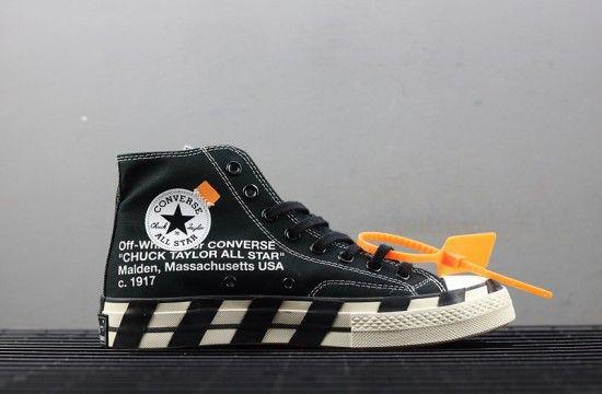 motivo Fatídico Puntuación  Off-White x Converse 2.0 Chuck Taylor All-Star 70s Hi Black | Off white  shoes, Chuck taylors, Converse chuck taylor