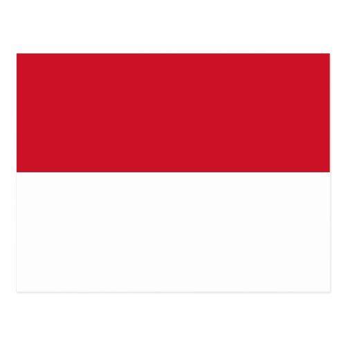 Flag Of Monaco Postcard Indonesia Flag Indonesian Flag Flags Of The World